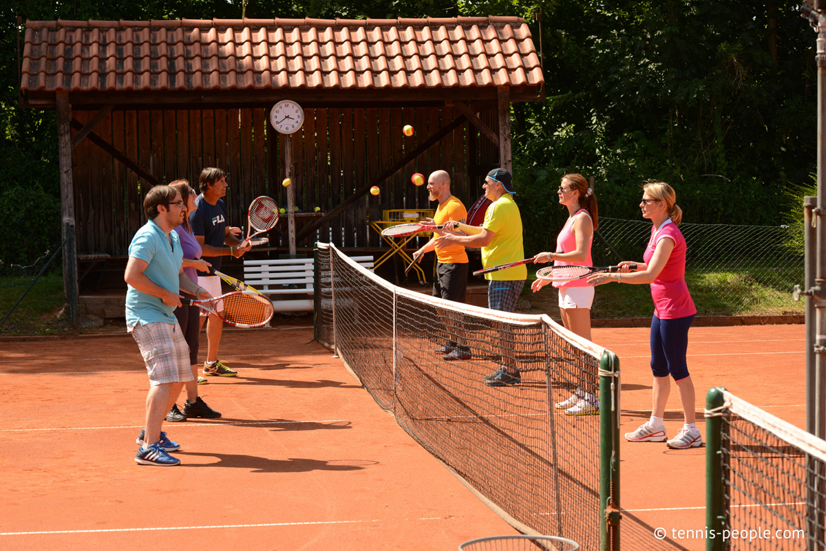 Fast Learning, lerne Tennis spielend leicht